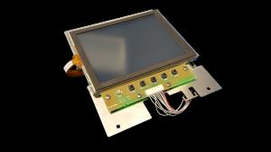 SAAB SCD Touchscreen Display